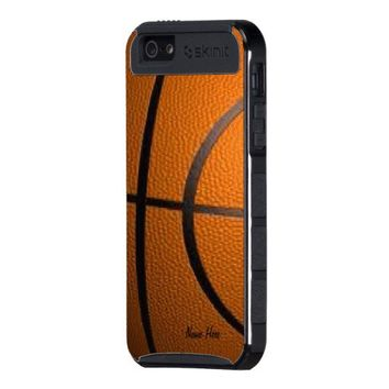 BasketBall Personal iPhone 5 Case from Zazzle.com