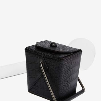 Nasty Gal x Nila Anthony Take Out Vegan Leather Bag