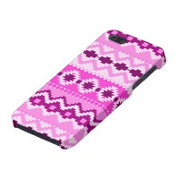 Aztec Pattern, Pink iPhone SE/5/5s Case