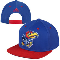 adidas Kansas Jayhawks 2014 March Madness Snapback Hat - Royal Blue/Crimson