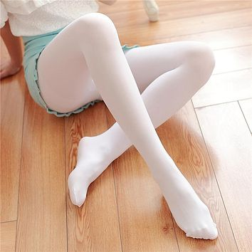 2017 Womens Girls Cute Opaque Tights Sexy Pantyhose Leg Warmers Stockings 200D Velvet Footed Tight Pantyhose Bottoming Stockings