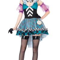 Blue Geometric Masquerade Costume