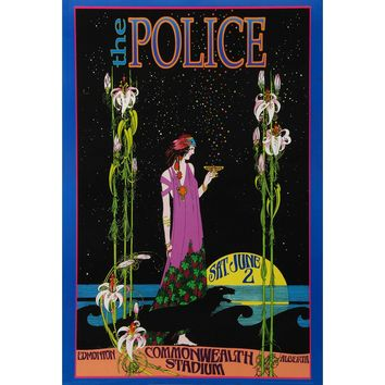 Police Concert Promo Poster