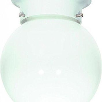 """Nuvo 77-947 - 6"""" Close-To-Ceiling Flush Mount Ceiling Fixture"""