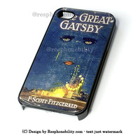 Great Gatsby Book iPhone 4 4S 5 5S 5C 6 6 Plus Case , iPod 4 5 Case , Samsung Galaxy S3 S4 S5 Note 3 Note 4 Case , and HTC One X M7 M8 Case
