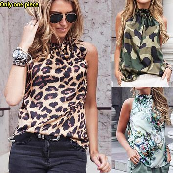 Fashionable women's printed off-the-shoulder t-shirts are hot sellers