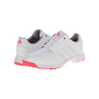adidas Women's Golf Response Light White/ White/ Pink | Overstock.com Shopping - The Best Deals on Women's Golf Shoes