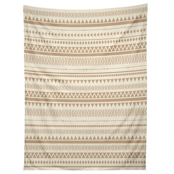 Allyson Johnson Tan Aztec Tapestry