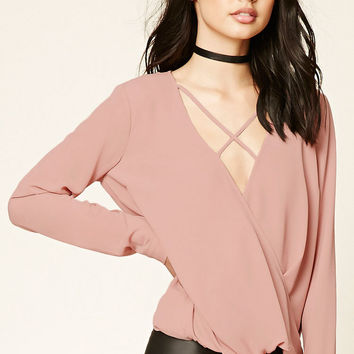 Surplice Front Top