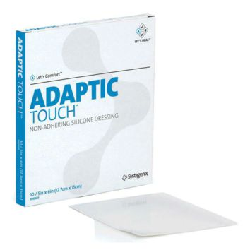 Adaptic Touch Cellulose Acetate, Silicone Non-Adhering Dressing | Systagenix Wound Management #500501