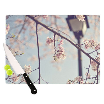 """Catherine McDonald """"Walk with Me"""" Cherry Blossom Cutting Board"""