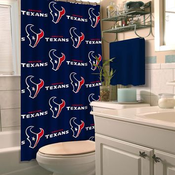 Houston Texans NFL Shower Curtain
