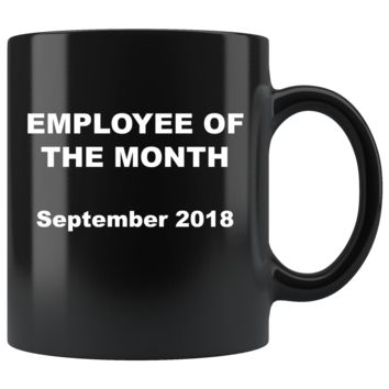 Employee of the Month 2018 Mugs