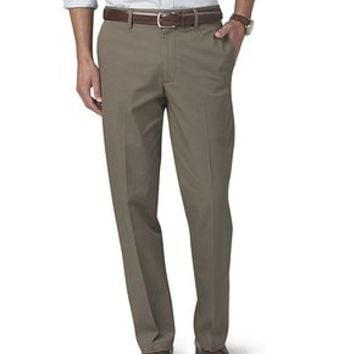 Dockers Signature On-the-Go Khaki Pants, Straight Fit - Grey - Men's