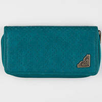 Roxy Harbor Wallet Teal Blue One Size For Women 22974724601