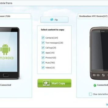 Wondershare MobileTrans 7.5.5 Crack Serial Keygen