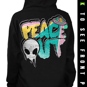 PEACE OUT PULLOVER SWEATSHIRT