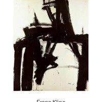 Untitled, 1957 Art Print by Franz Kline at Art.com