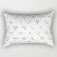 Diamonds In The Sky Rectangular Pillow by All Is One