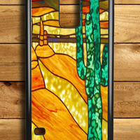 Cactus Stained Glass Samsung Galaxy S5 Case