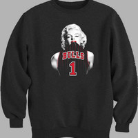 Marilyn Monroe Chicago Bulls Sweater for Mens Sweater and Womens Sweater ***