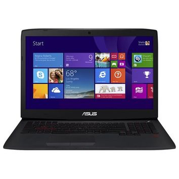 "Asus - ROG 17.3"" Laptop - Intel Core i7 - 24GB Memory - 1TB Hard Drive + 256GB Solid State Drive - Black"