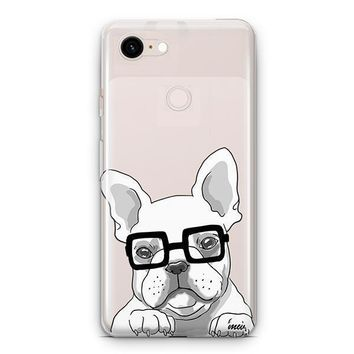 The Frenchie - Google Pixel 3 Clear Case