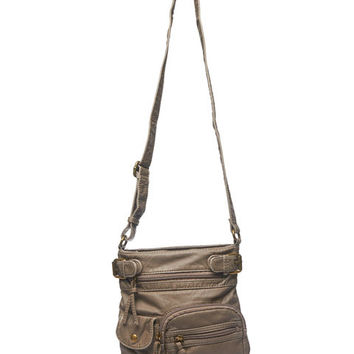 Zip Pocket Crossbody Bag Wet Seal 3