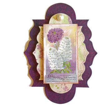 Mother's Day, 3D Scrapbook Embellishment, Paper piecing, gift tags, Scrapbooking Layouts, Cards, Mini Albums, brag book, Paper Crafts