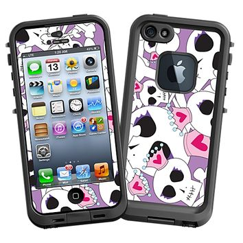 Skull Princess Skin for the iPhone 5 Lifeproof Case by skinzy.com