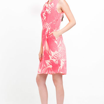 ESSENTIEL Antwerp Ghislain Dress in Neon Pink