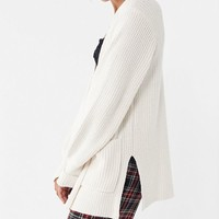 UO York Split Cardigan | Urban Outfitters