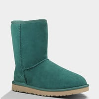 Ugg Classic Short Womens Boots Billiard Green  In Sizes