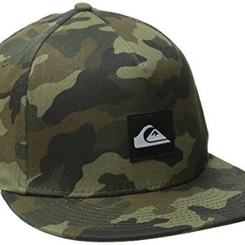 Quiksilver Men's On Point Snapback Hat, Camo, One Size