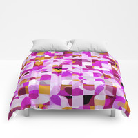 Crazy Squares Comforters by Mirimo