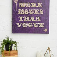 Art Remedy More Issues Canvas Art