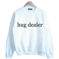 hug dealer Print Sweater Sweatshirt for Women Gift 189