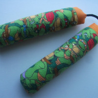 Super Soft Cotton Toy Teenage Mutant Ninja Turtle Print Nunchakus