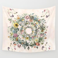 Circle of life Wall Tapestry by anipani