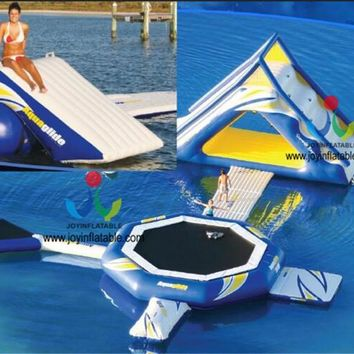 2018 High Quality And Giant Inflatable Water Park/ Cheap Inflatable Commercial Water Park Games For Adults