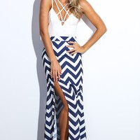 HelloMolly | Levy Maxi Dress Navy