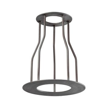 Titan Lighting Cast Iron Pipe Optional Cage Shade-TN-75844 - The Home Depot