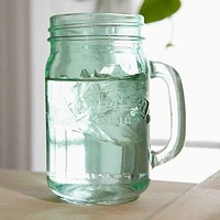 Kilner Green Glass Mason Jar Mug- Green One
