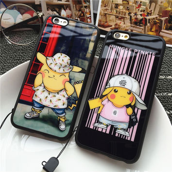 Iphone Cartoons Couple Soft Silicone Phone Case [9078300868]
