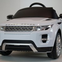 Licensed Range Rover Evoque Ride On Car Toy With Remote Control MP3 Connection Key for Start UPGRADED 12V BATTERY