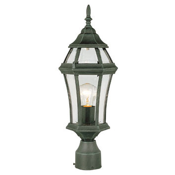 Trans Globe Lighting 4513VG Allendale 20 Inch High Outdoor Post Top Vg -Verde Green