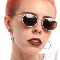 90's Deadstock Mocha Ringlight Sunnies