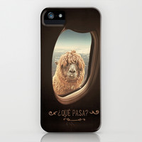 *** QUÈ PASA? *** Funny Lama iPhone & iPod Case by Monika Strigel | Society6 for iphone 5 + 5c + 5s + 4s + 4 +3gs + 3g + ipod touch ***