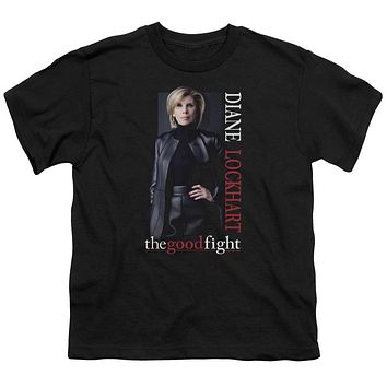 The Good Fight Kids T-Shirt Diane Black Tee