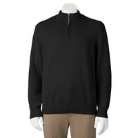 Ben Hogan Quarter-Zip Mockneck Golf Pullover Sweater
